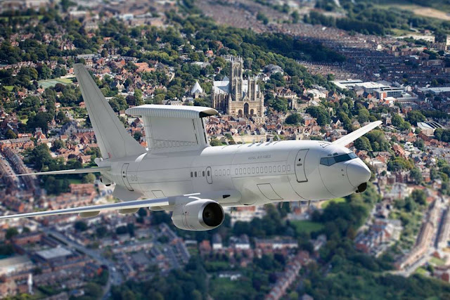 UK Defence Secretary signs multi-billion-pound deal to purchase five E-7 early warning radar aircraft