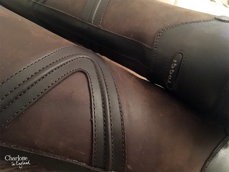 Charlotte in England Toggi: Rundle Boots Leather Review