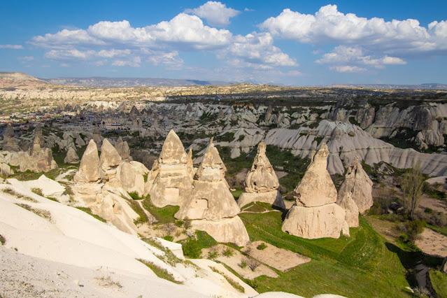 Punto panoramico e camini delle fate tra Uchisar e Goreme-Cappadocia