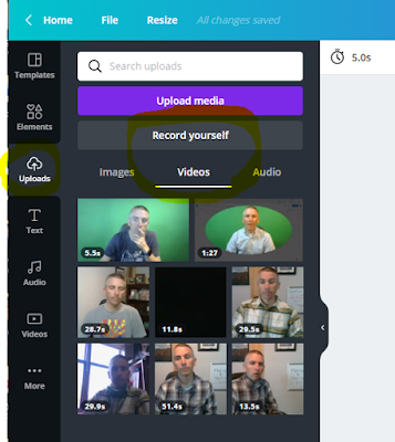 record%2Bvideos%2Bin%2Bcanva Two Cool New Presentation Creation Options in Canva