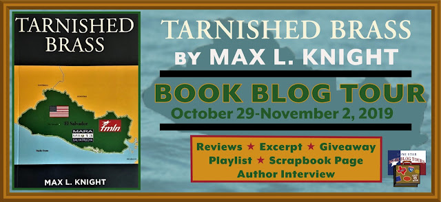 Tarnished Brass book blog tour promotion banner