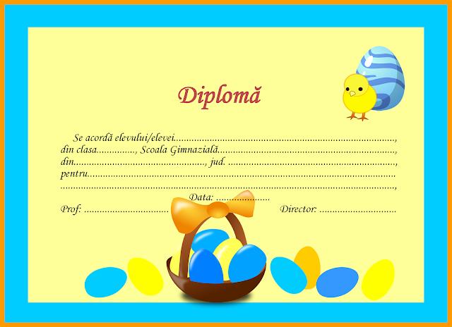 Diplome de Paști
