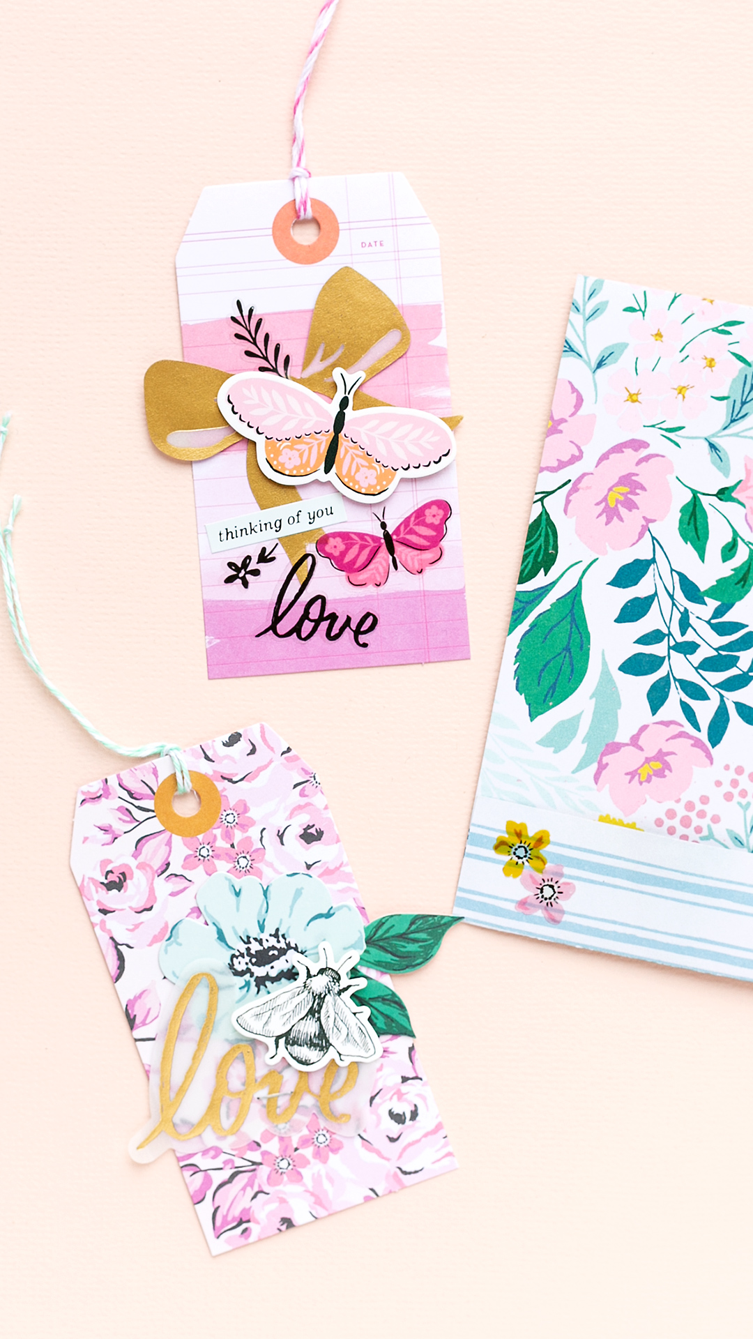 You can't have enough gift tags for giftwrapping and scrapbook pages