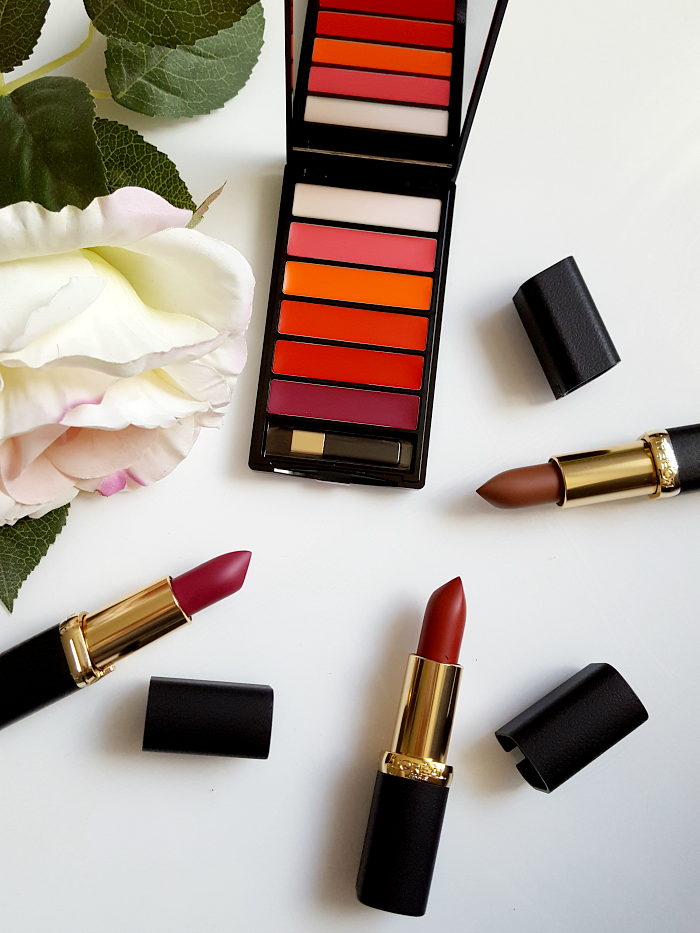 L´Oréal Paris - Color Riche La Palette Matte Bold & Matte Lipsticks