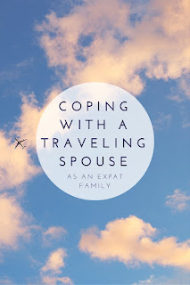 Coping with a traveling spouse