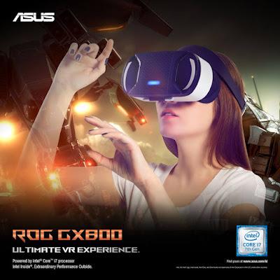 ASUS ROG GX800 VR Experience