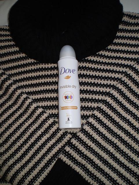Dove Invisible dry anti-perspirant spray
