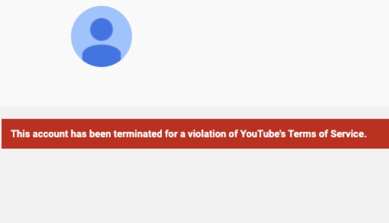 ABS-CBN News YouTube channels down, terminated?