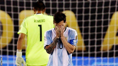 """On top of everything, I missed the penalty kick,"" said Messi, after the match"