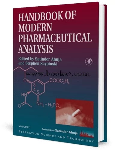 Handbook of Pharmaceutical Analysis, Volume 3 by Lena Ohannesian  and J. Streeter