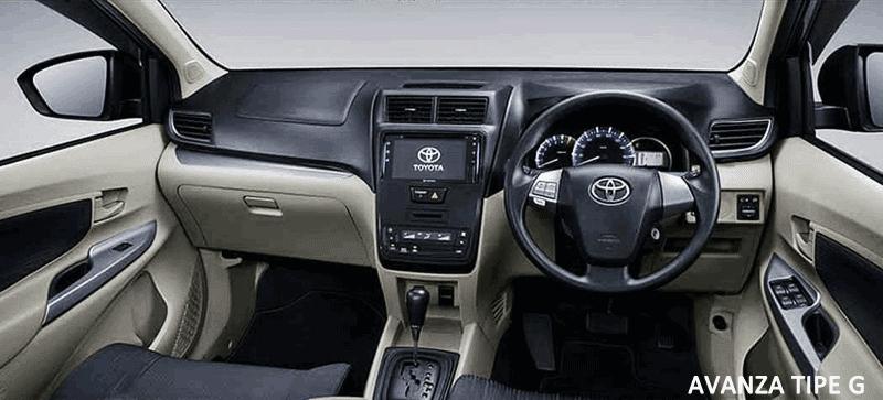 Interior Toyota Avanza Tipe G