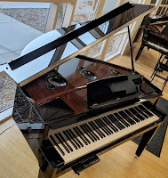 Yamaha N3X hybrid digital grand piano