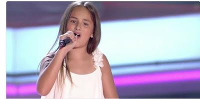 Edurne: Blanco y Negro |  Audiciones a ciegas La Voz Kids