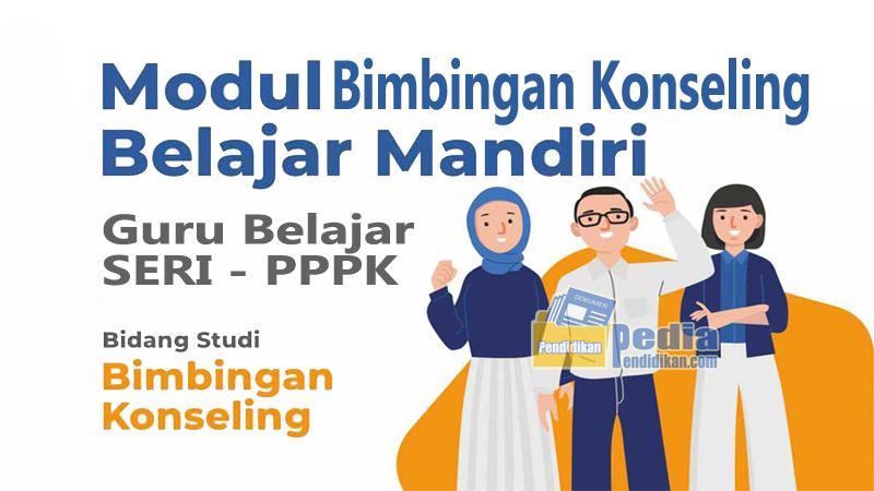 MODUL BELAJAR MANDIRI GURU PPPK BIDANG STUDI BK