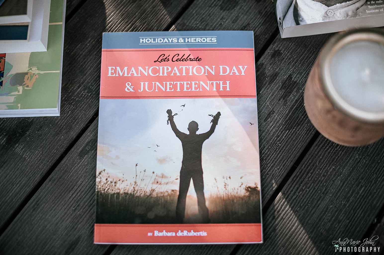 Juneteenth Books - Let's Celebrate Emancipation Day & Juneteenth (Holidays & Heroes)