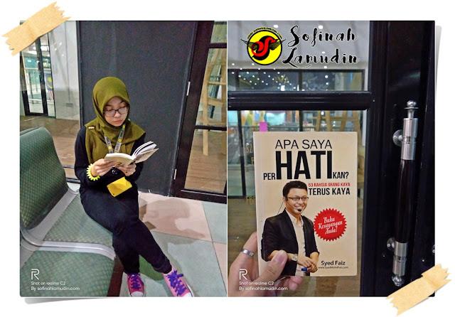 Apa Yang Saya Perhatikan? oleh Syed Faiz | Selepas Saya Membaca Buku Ini, Saya Tertanya tanya. Adakah.....