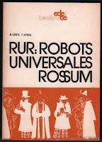Portada de R.U.R. (Robots Universales de Rossum)