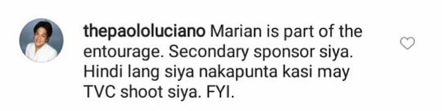 Marian Rivera Was Absent At The Solinap-Pangilinan Wedding Because Of A Very Important Reason!