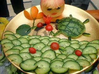 Món ăn ngon và đẹp: rùa biển