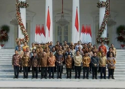 Inilah Nama-nama Dalam Susunan Kabinet Indonesia Maju 2019 - 2024