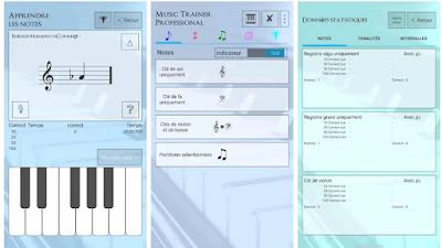 تعلم جميع النوتات الموسيقية جنبا إلى جنب مع علاماتهم apprendre les notes de musique
