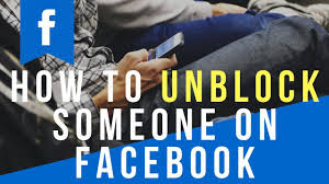 I Want To Unblock Someone On Facebook | Unblock Facebook Friend