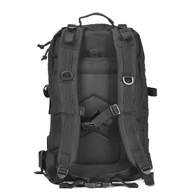 กระเป๋าเดินป่า ZEHUI YW-MB01 ด้านหลัง