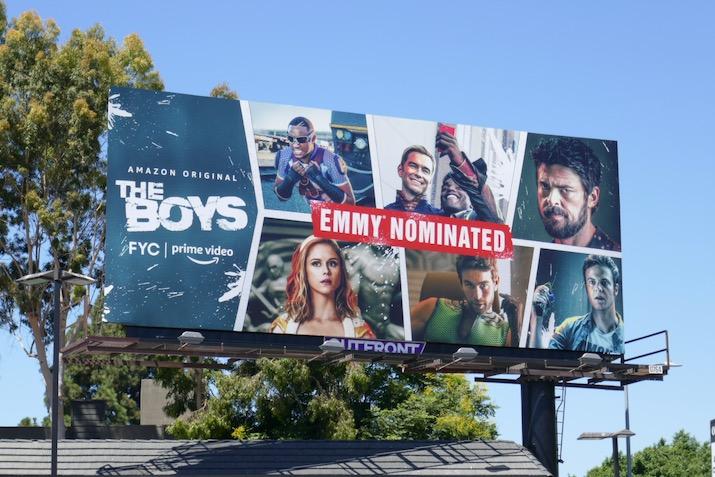 Boys 2020 Emmy nominee billboard