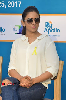 Actress Rakul Preet Singh at Endometriosis Awareness Walk at Apollo Cradle  0063.jpg