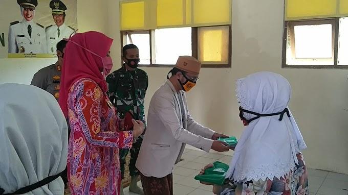 Inspeksi Tiga Pilar  Protokol Kesehatan 123 Santri Rapid Test Santri  PP Nurul Qur' an (Santri Tangguh ) Menuju PP Sidogiri Pasuruan.