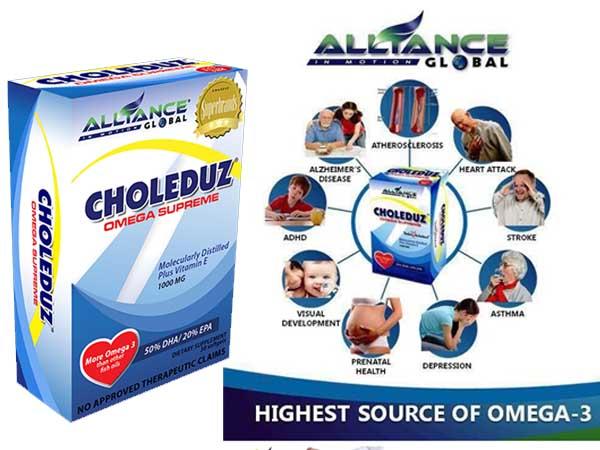 Choleduz Omega Supreme - Highest Source of Omega-3 -Shop Online