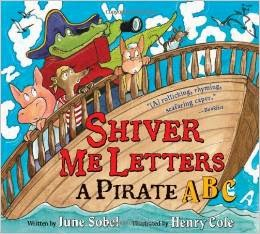 Shiver Me Letters Activity from School Time Snippets