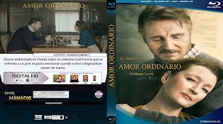 CARATULA AMOR ORDINARIO - ORDINARY LOVE 2019[COVER BLU-RAY]