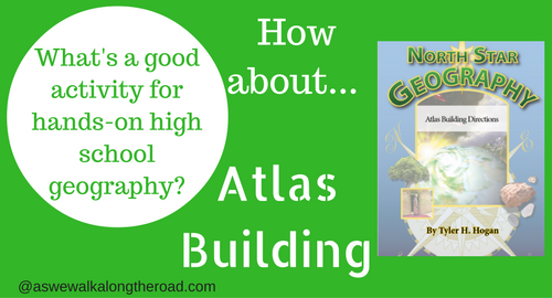 Building an atlas for high school geography