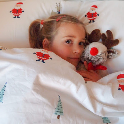 Gorgeous Children's Christmas bedding from Great Little Trading Co