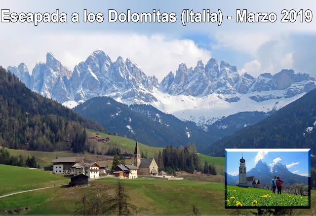 Montes Dolomitas, escapada de 5 días