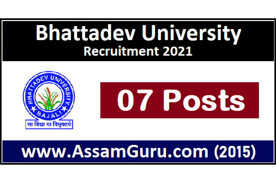 bhattadev-university-Jobs-2021