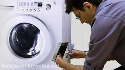 Penyebab mesin cuci air tidak keluar