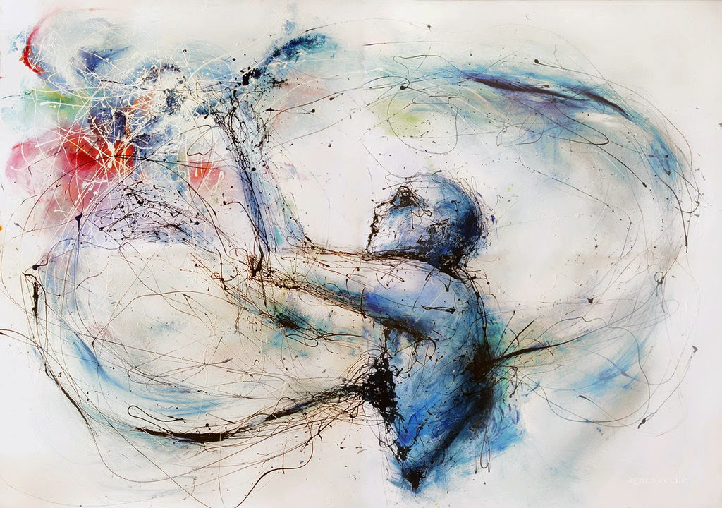 Infinito - Agnes-Cécile e suas principais pinturas ~ aquarela