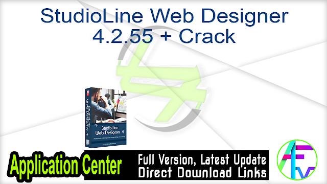 StudioLine Web Designer 4.2.55 + Crack