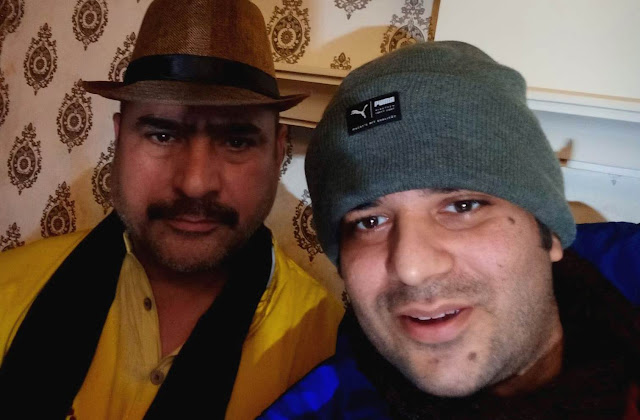 After an interaction with actor Yashpal Sharma in Karnal, Haryana