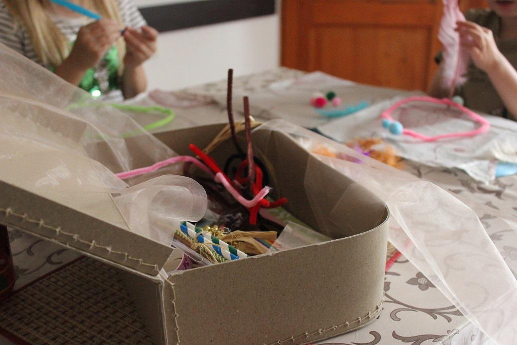 svobodné dětské tvoření můj kreativní box