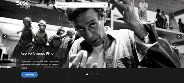 Sesc SP disponibiliza Acervo com obras de Antunes Filho