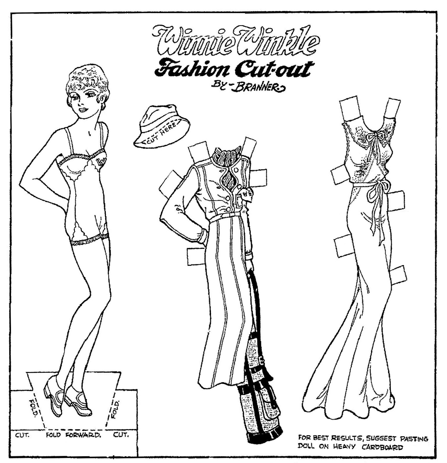 Mostly Paper Dolls Too!: November 2013
