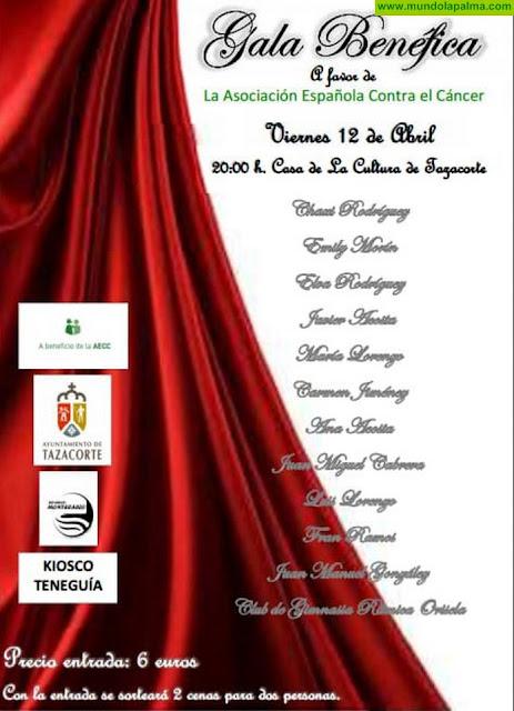 Gala Benéfica a Favor de AECC en Tazacorte
