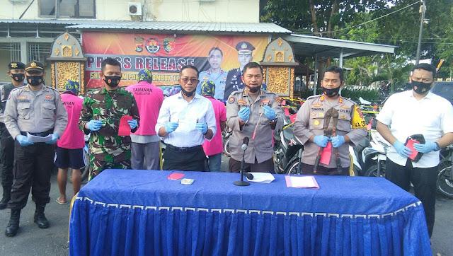 Tim Puma Polres Lotim tangkap 5 Pelaku Curanmor dan BB 62 Motor