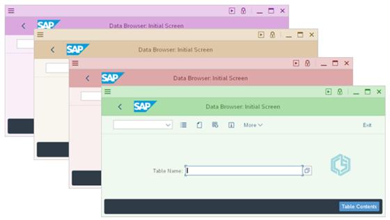 Colores en diseño Belice - Consultoria-SAP