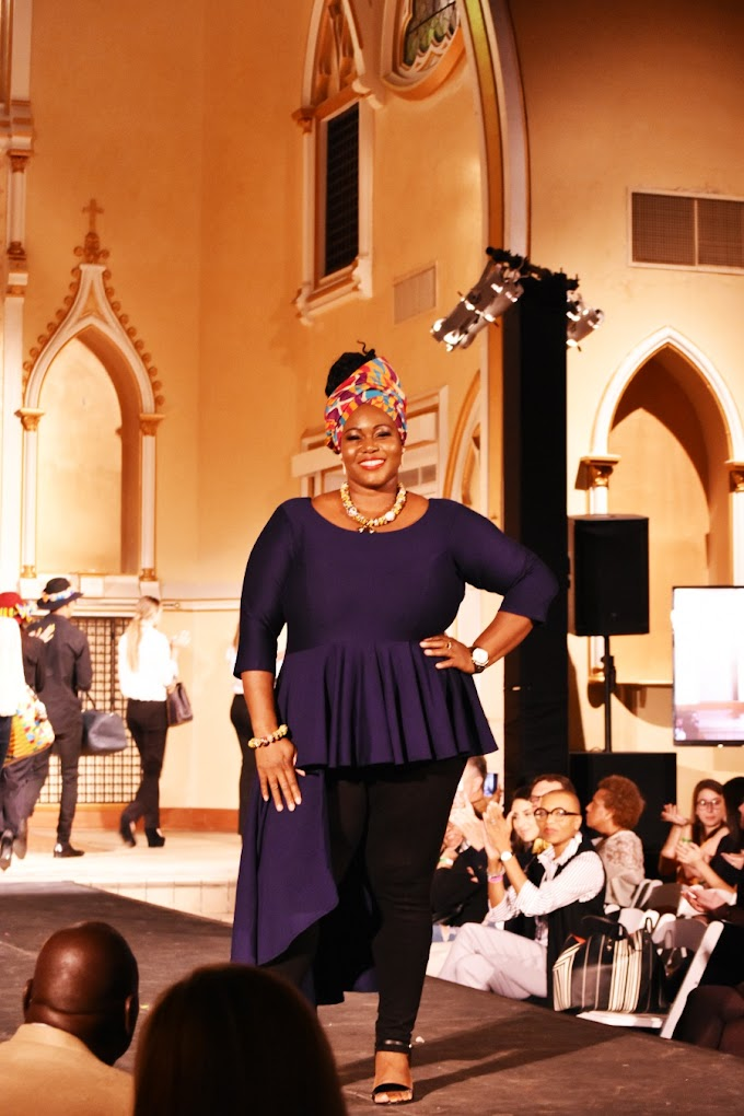 Photos: Selina Beb Showcases its 'Kente Collection at the New Orleans Fashion Week 2018
