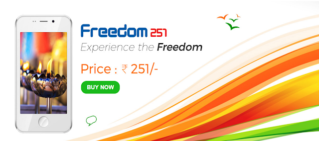 World's cheapest Smartphone has been launched in India by the local company Ringing Bells which only costs INR. 251 (less than $4). The Freedom 251 is packed with so many features that anyone can ever imagine and it's the world's cheapest smartphone so far.