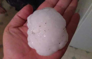 Tennis Ball-Sized Hailstones Rain Damages Homes Across Colorado Springs [See Video]